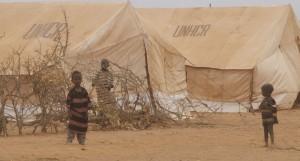 Children in Dedaab Refugee Camp